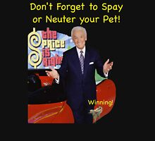 Bob Barker Spay or Neuter Your Pet Mens V-Neck T-Shirt