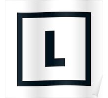 "Alphabet ""L"" Poster"