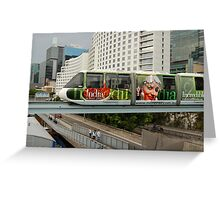 Sydney Monorail Greeting Card