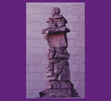 Inuksuk in Violet Tee by Kayleigh Walmsley