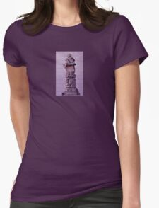 Inuksuk in Violet Tee Womens Fitted T-Shirt
