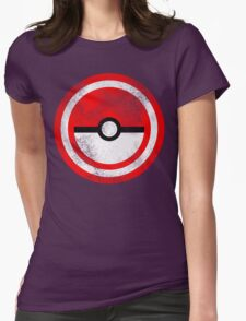 Captain Catch 'Em All Womens Fitted T-Shirt