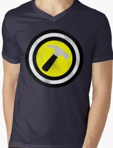 Captain Captain Hammer Mens V-Neck T-Shirt