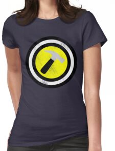 Captain Captain Hammer Womens Fitted T-Shirt