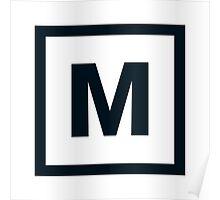 "Alphabet ""M"" Poster"
