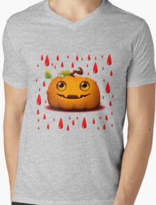 Halloween Pumpkin Mens V-Neck T-Shirt