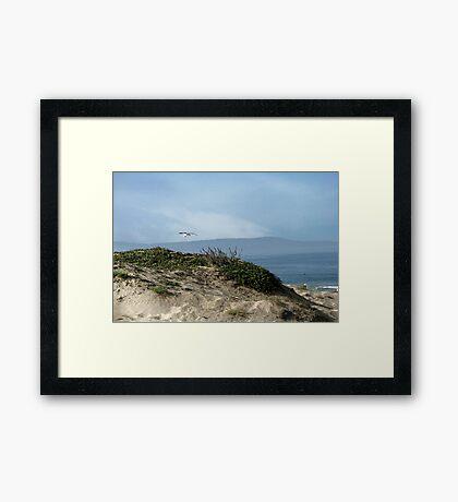 Beach Serenity Framed Print