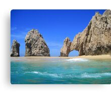 Lover's Beach Canvas Print