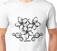 Plumeria in Hawaii Style Unisex T-Shirt