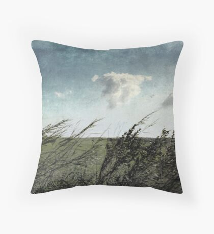 If the winds of winter could soothe my soul Throw Pillow