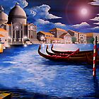 Grand Canal of Venice by Curtiss Shaffer