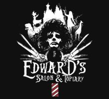 Edward's Salon and Topiary - Edward Scissorhands by jimiyo