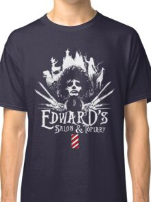 Edward's Salon and Topiary - Edward Scissorhands Classic T-Shirt