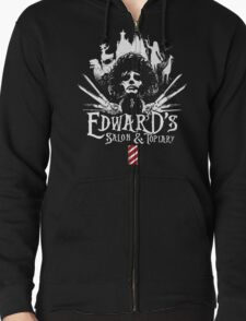 Edward's Salon and Topiary - Edward Scissorhands T-Shirt