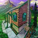 Mountain Retreat by Curtiss Shaffer