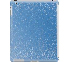 Melting snow spots blue sky iPad Case/Skin