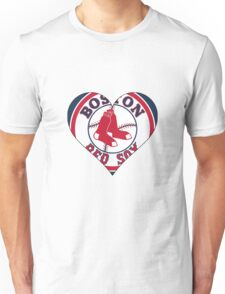 Red Sox love Unisex T-Shirt
