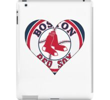 Red Sox love iPad Case/Skin