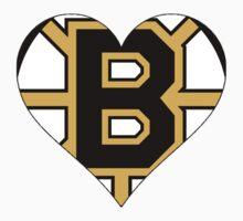 Boston Bruins love One Piece - Short Sleeve