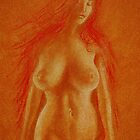 Lily - Figurative Study by Paulino Pagalleria