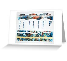 Layers - Beneath the surface (No.2 of 4) Greeting Card