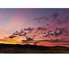 Sunrise over the 'Eastern Fells' Photographic Print