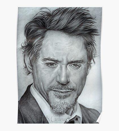 Faces-Robert Downey Jr. Poster