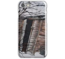 outhouse  iPhone Case/Skin