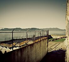 Backyard - Alcatraz, California by Fabian Rokohl