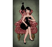 cocktail dress Photographic Print