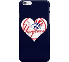 Yankees love iPhone Case/Skin