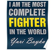 Yuri Boyka Quote Poster