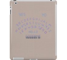 Analogue Ouija iPad Case/Skin