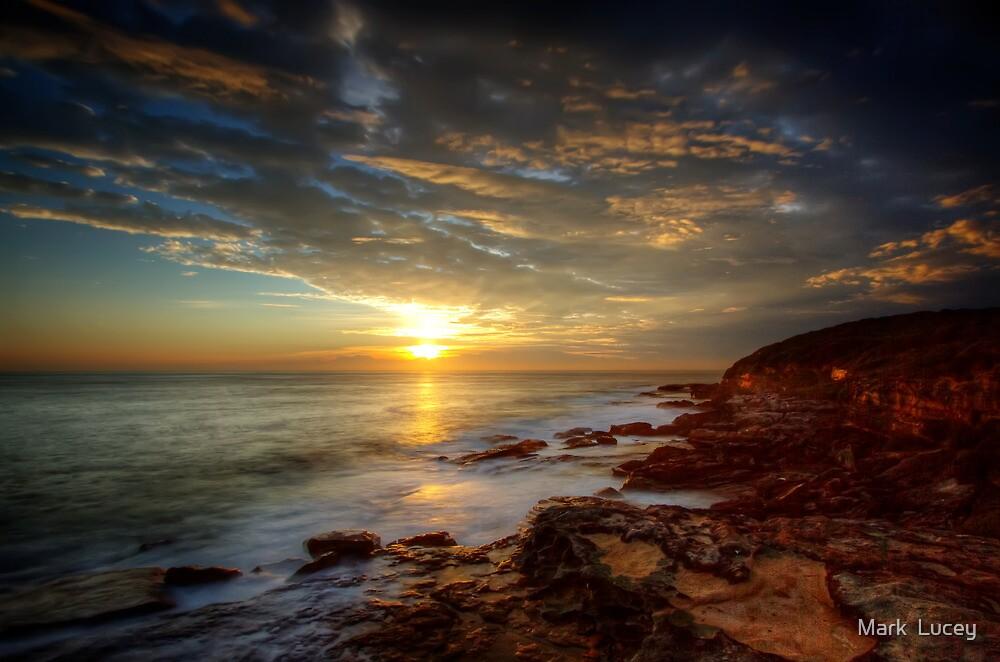 Maroubra Sunrise by Mark  Lucey