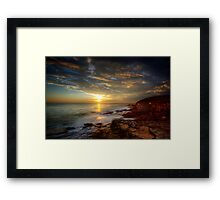 Maroubra Sunrise Framed Print