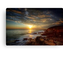 Maroubra Sunrise Canvas Print