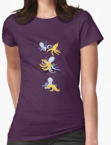 octo-banana Womens Fitted T-Shirt