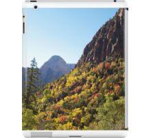 Autumn Colours in Zion iPad Case/Skin