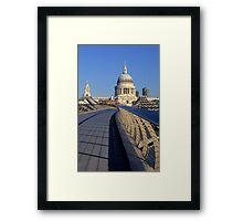 Millenium Bridge Framed Print