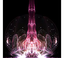 Dreaming of Rebirth - Abstract Fractal Artwork Photographic Print