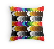 Funky set of scales Throw Pillow