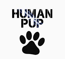 Human Pup With Pawprint Unisex T-Shirt