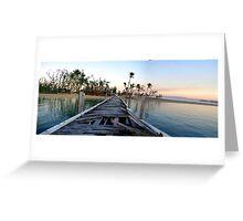 Dunk Island Jetty Greeting Card