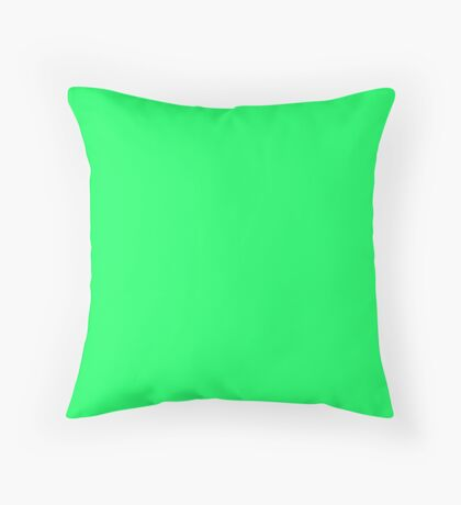 Lanai Lime Green - Acid Green Throw Pillow