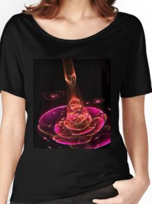 Receiver - Abstract Fractal Artwork Women's Relaxed Fit T-Shirt