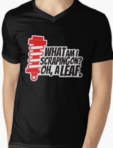What am I scraping on? 4 Mens V-Neck T-Shirt