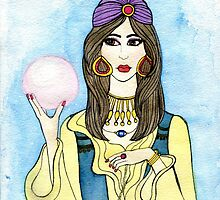 Fortune Teller // Halloween Costume by pizzazzdesign