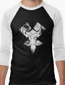 Kingdom Hearts Keyblade Master grunge Men's Baseball ¾ T-Shirt