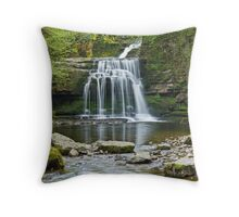 West Burton Falls Throw Pillow