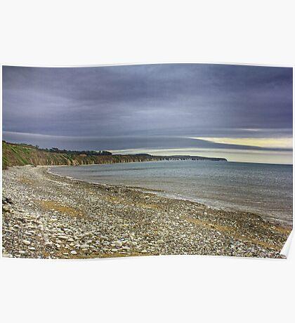 Storm Over North Bay Bridlington Poster